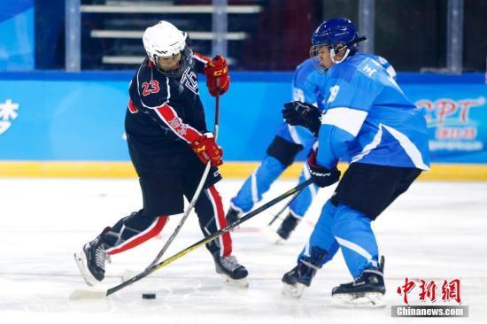 资料图:2018年12月5日,北京市第一届冬季运动会开幕式在五棵松体育馆举行。 中新社记者 富田 摄