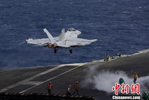 U.S. F/A-18 jet crashes in Calinfornia during training