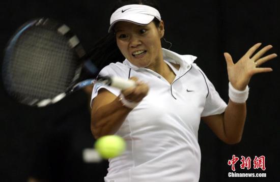资料图:李娜仍是中国网坛唯一一位曾跻身WTA世界前十的运动员。<a target='_blank' href='http://www.chinanews.com/'>中新社</a>记者 任晨鸣 摄