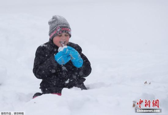 当地时间12月9日,美国东南部遭遇暴风雪攻击,北卡州众地积雪主要,政府出动铲雪车除雪。此次暴风雪造成数十万人出走难得,众片区域电力供答受影响。