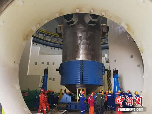 中国自主三代核电技术华龙一号批量化建设开启