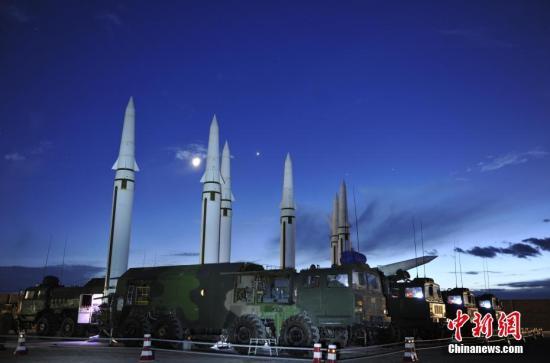 资料图:火箭军训练发射掠影。<a target='_blank' href='http://footytwits.com/'>中新社</a>发 钟欣 摄