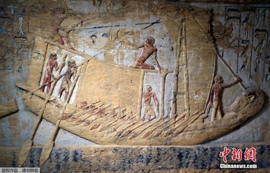 当地时间12月15日,埃及公开了位于开罗的新挖掘大祭司Wahteye的坟墓,他曾在Neferirkare国王统治期间(公元前2500年至公元前2300年)服务。