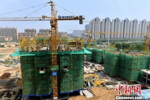 资料图为在建住宅。<a target='_blank' href='http://www.chinanews.com/'>中新社</a>记者 吕明 摄