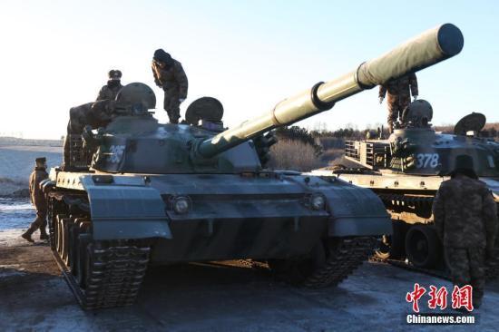 图为战前准备现场。<a target='_blank' href='http://www.chinanews.com/'>中新社</a>记者 吕品 摄