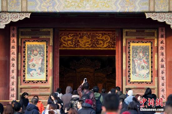 Chinese people will now be able to enjoy Spring Festival in the Palace Museum