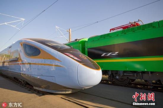 资料图:复兴号高铁列车。图片来源:东方IC 版权作品 请勿转载