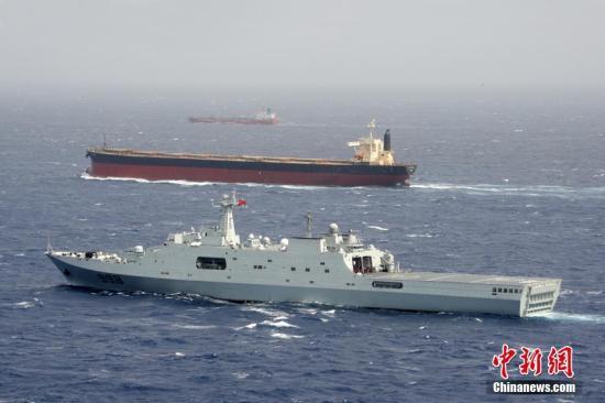 中国海军护航记事:也门码头上的中国海