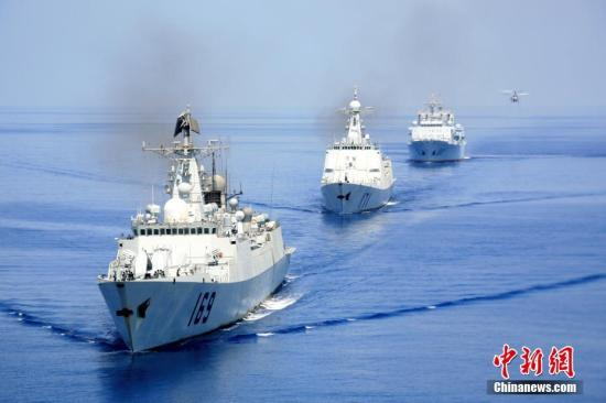 中国海军护航记事之二:首批编队的第一次