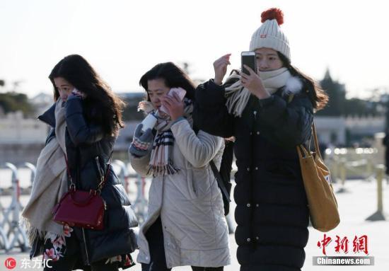 12月27日,北京进入冰冻模式。图片来源:东方IC 版权作品 请勿转载
