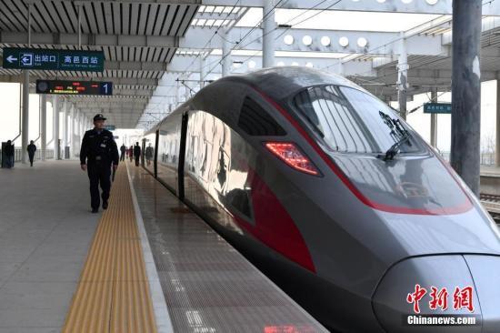 资料图:高铁复兴号。中新社记者 翟羽佳 摄
