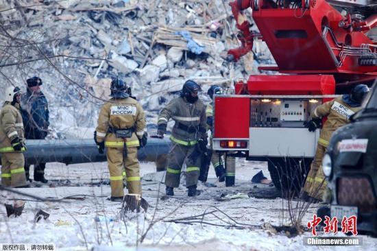 2019-01-19,俄住宅楼发生天然气爆炸事故 致多人死伤。