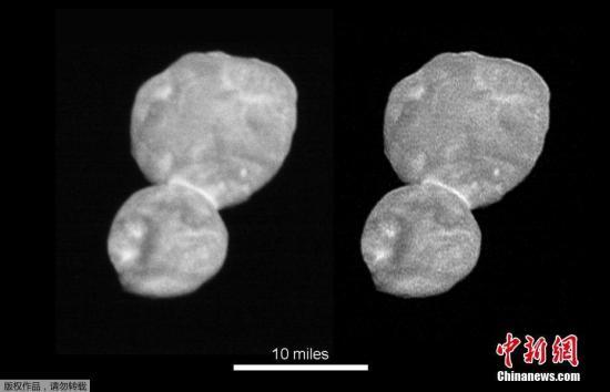 """""""新视野""""号于2006年1月19日发射升空。在飞掠冥王星后,基于观测结果和探测器的燃料情况,科学团队决定以太阳系的第三区――柯伊伯带的天体""""2014 MU69""""作为下一个飞越目标。"""