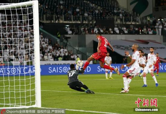 图为巴林球员射门。图片来源:Osports全体育图片社