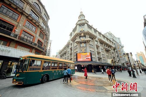 材料图:天津某步止街。a target='_blank' href='http://www.chinanews.com/'种孤社/a记者 佟郁 摄