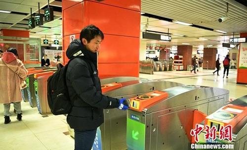 合肥轨道交通实现二维码过闸技术 乘客可直接扫码进站乘车
