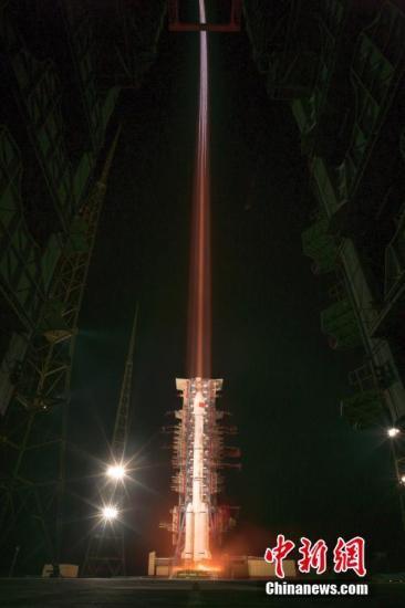 图为蓄势待发。 中国运载火箭技术研究院/提供