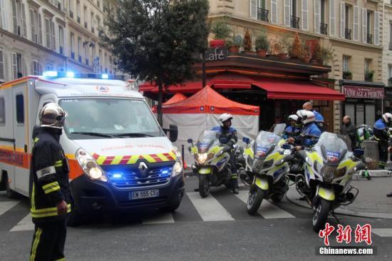 巴黎市中心突发爆炸已造成数十人受伤