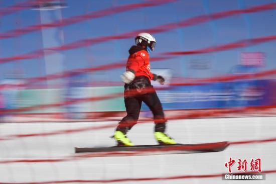 中国滑雪板并行项目取得突破:龚乃英拿起金牌创造历史