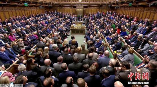 材料图:英国议会。