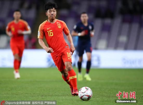 图为中国队金敬道在比赛中。图片来源:Osports全体育图片社