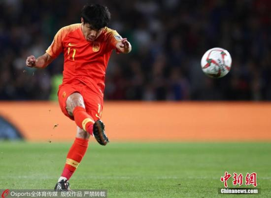 图为中国队蒿俊闵在比赛中。图片来源:Osports全体育图片社