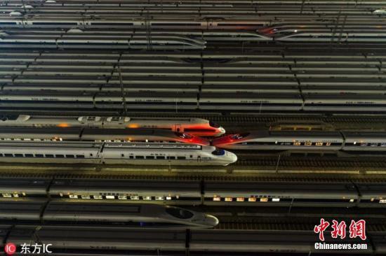 2019年春运于1月21日开始,预计全国旅客发送量将达到29.9亿人次。 赵军 摄 图片来源:东方IC 版权作品 请勿转载