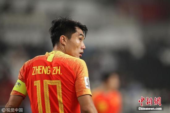 资料图:老将郑智曾在亚洲赛场获得很多荣誉。图片来源:视觉中国