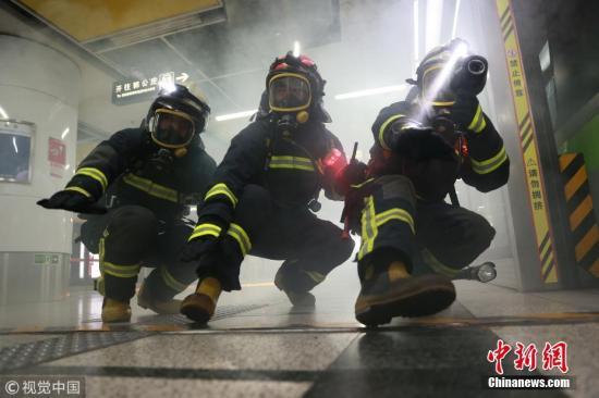 资料图:北京消防。陈健男 摄 图片来源:视觉中国