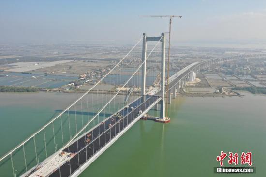资料图:虎门二桥。中新社发 岳路建 摄