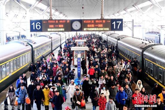 长三角铁路春节七天假期发送旅客首破1000万人次