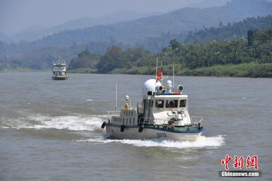 材料图:湄公河。a target='_blank' href='http://www.chinanews.com/'种孤社/a记者 任东 摄