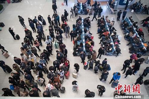 2020年春运中国铁路预计发送旅客4.4亿人次