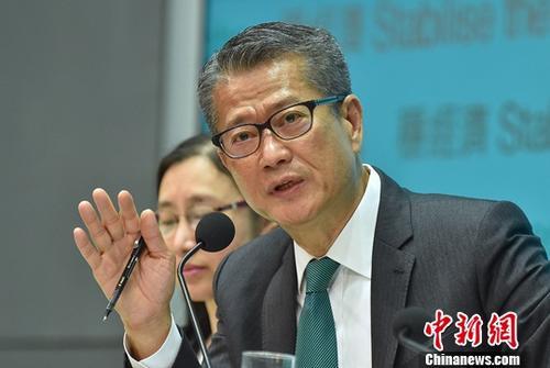 资料图:香港特区政府财政司司长陈茂波。中新社记者 麦尚旻 摄