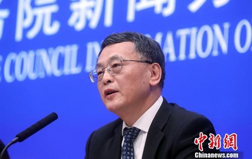 2月28日,国务院新闻办公室在北京举行新闻发布会,介绍《粤港澳大湾区发展规划纲要》有关情况。澳门特别行政区政府政策研究和区域发展局局长米健出席并表示,抓住时代机遇,通过大湾区建设获得跨越发展。<a target='_blank' href='http://reggaechina.com/'>中新社</a>记者 张宇 摄
