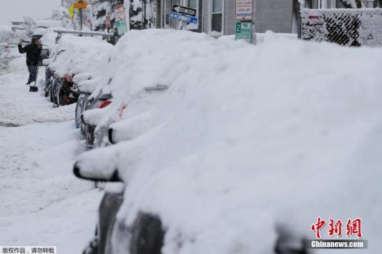 美东地区将迎暴风雪和强风 1400万人处于警报之下
