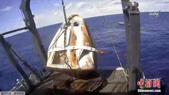 SpaceX says Crew Dragon capsule destroyed in ground test