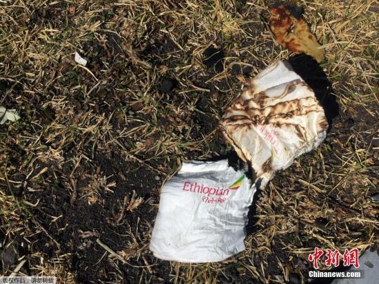 當地時間2019年3月10日,埃塞爾比亞亞的斯亞貝巴,搜救隊繼續在埃塞俄比亞航空墜機現場進行殘骸清理和遺體搜尋工作。當天,埃航一架從亞的斯亞貝巴飛往肯尼亞內羅畢的客機在起飛后不久墜毀,機上149名乘客和8名機組人員無一生還。