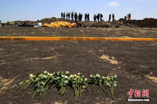 埃塞航空空难清理工作基本结束遇难者家属抵现场追思