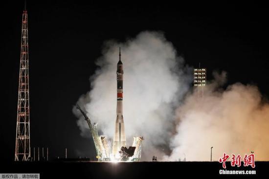 俄美宇航员顺利进入空间站 或将迎史上