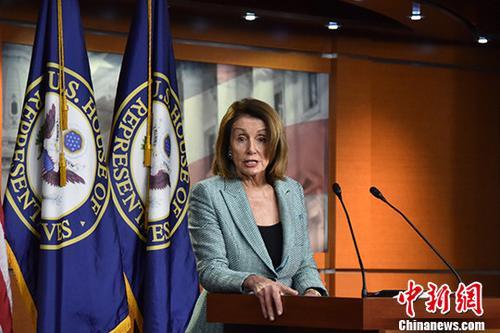 美众院议长佩洛西回应被指违规在发廊理发:圈套!