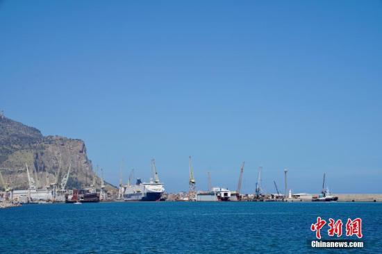 图为巴勒莫的港口。中新社记者 彭大伟 摄