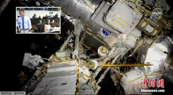 NASA:国际空间站美国舱段外挂新蓄电池充电失败