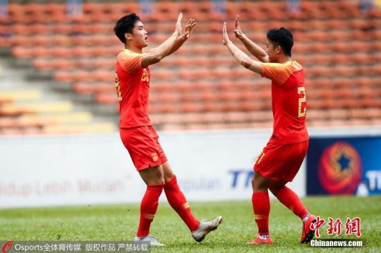 中国国奥2:0印尼国奥取两连胜 童磊打进凌空世界波