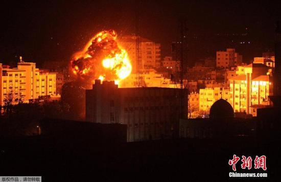 以军空袭加沙地带阿巴斯谴责以方制造紧张局势