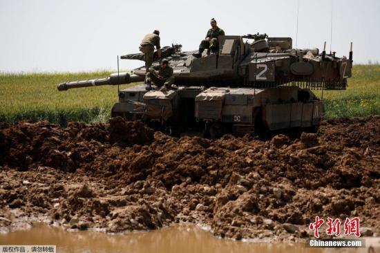 以色列出动军机坦克 继续打击加沙地带哈马斯目标