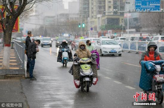 冷空气影响中东部地区降雨强对流大雾齐聚南方