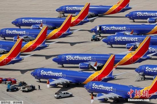 應對波音737Max停飛及勞資糾紛 美航暫停擴增機位