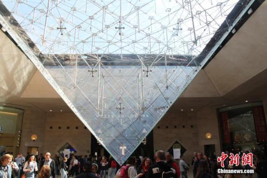資料圖:游客參觀法國盧浮宮。<a target='_blank' href='http://www.wgxsrf.tw/'>中新社</a>記者 李洋 攝