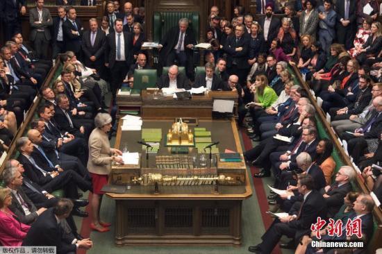 資料圖:英國議會。